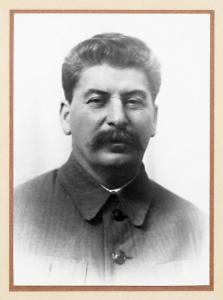 Joseph Stalin, Chairman of the Council of People's Commissars of the USSR. 1940s. RGASPI